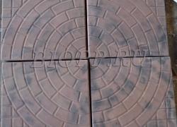 Тротуарная плитка 400х400  «Львовский тротуар»