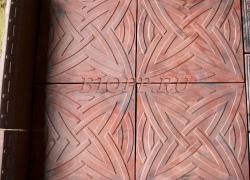 Тротуарная плитка 400х400  «Роза ветров»