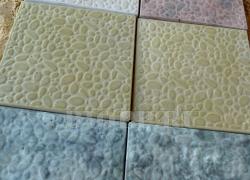 Тротуарная плитка 400х400 «Галька малая»