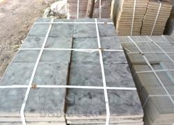 Тротуарная плитка «Шагрень»  Размер :400х400х35 мм Цвет: Мрамор