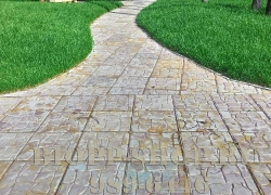 Тротуарная плитка 300х300 «Галька»