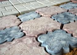 Тротуарная плитка «Гжель»
