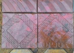 Тротуарная плитка Ромб_1