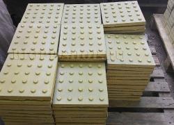 Тактильная плитка 300x300 Конусообразные рифы