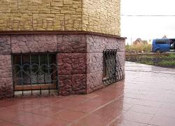 Фасадная плитка «Скол»+«Скалистая гора»