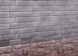 Панель вилка Гладкий Кирпичик и цоколь Старая Крепость От производственной фирмы