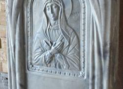 Ритуальный памятник Богородица