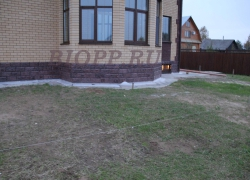 Фасадная цокольная панель «Ростовский камень»