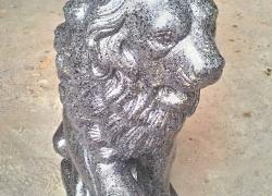 Лев бетонный гранит